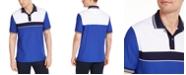 Club Room Men's Sporty Stripe Polo Shirt, Created for Macy's