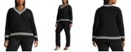 Lauren Ralph Lauren Plus-Size Cotton Cricket Sweater