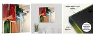 "GreatBigCanvas 'Kink' Canvas Wall Art, 24"" x 24"""