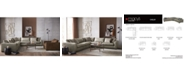 Furniture Chelby Leather Sectional Sofa Collection