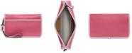 COACH Colorblock Leather Britt Wristlet