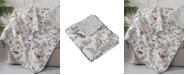 Levtex Mockingbird Toile Reversible Quilted Throw