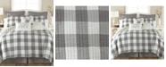 Levtex Camden Buffalo Check Reversible Twin Quilt Set