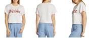 Dickies Juniors' Cropped Logo T-Shirt