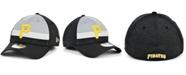 New Era Men's Pittsburgh Pirates Striped Shadow Tech 39THIRTY Cap