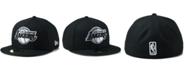 New Era Los Angeles Lakers Black White 59FIFTY Cap