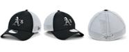 New Era Oakland Athletics Black White Gradient Trucker 39THIRTY Cap