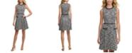 Tommy Hilfiger Tweed Fit & Flare Dress