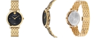 Versace Women's Swiss Medusa Chain Gold Ion Plated Stainless Steel Bracelet Watch 37mm