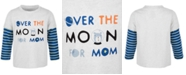 First Impressions Baby Boys Over The Moon T-Shirt, Created for Macy's