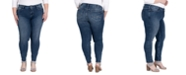 Silver Jeans Co. Trendy Plus Size Elyse Skinny Jeans