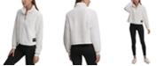 Calvin Klein Fleece Pullover Top