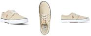 Polo Ralph Lauren Men's Faxon Washed Canvas Sneaker