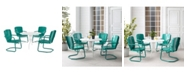 Crosley Ridgeland 5 Piece Outdoor Dining Set