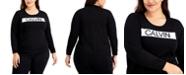 Calvin Klein Plus Size Logo Sweater