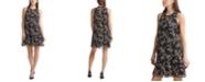 Calvin Klein Chiffon A-Line Dress
