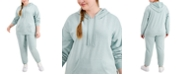 Rebellious One Trendy Plus Size Fleece Hoodie