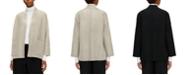Eileen Fisher High-Collar Wool Jacket