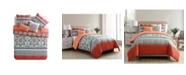 VCNY Home Ezra Reversible Medallion 5 Piece Comforter Set, King