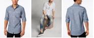 INC International Concepts INC Men's Chambray Dual-Pocket Shirt, Created for Macy's
