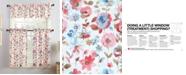 No. 918 Deana 3-Piece Floral-Print Kitchen Curtain Set