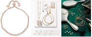 EFFY Collection Bubbles by EFFY® Diamond Bezel Bolo Bracelet (5/8 ct. t.w.) in 14k Rose Gold