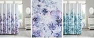 "Madison Park Enza 72"" x 72"" Floral 100% Cotton Printed Shower Curtain"