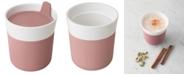 BergHOFF Leo Collection Porcelain 8.45-Oz. Travel Mug with Sleeve
