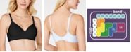 Hanes Ultimate Smooth Inside & Out Shaping T-Shirt Wireless Bra DHHU05, Online only