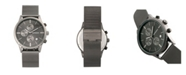 Breed Quartz Espinosa Chronograph Gunmetal And Black Alloy Watches 42mm