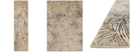 "Loloi Dreamscape DM-04 Charcoal/Beige 2'3"" x 8' Runner Area Rug"
