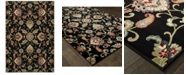 "Oriental Weavers Kashan 9946K Black/Multi 3'10"" x 5'5"" Area Rug"