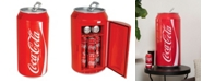 Koolatron Coca-Cola Portable 12 Can Thermoelectric Mini Fridge Cooler, 10 L/10.6 Quarts Capacity, 12V DC/110V AC for home, den, dorm, cottage, cabin, beer, beverages, snacks, skincare, cosmetics, medication