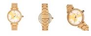 Bertha Quartz Nora Gold Stainless Steel Watch, 38mm