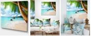 "Design Art Designart Praslin Island Seychelles Beach Seashore Photo Canvas Print - 40"" X 30"""