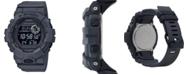 G-Shock Men's Digital Gray Resin Strap Watch 48.6mm