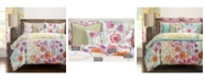Siscovers Whimsical Wildflowers 6 Piece King Luxury Duvet Set