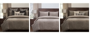 Siscovers Downy Taupe 6 Piece Queen Luxury Duvet Set