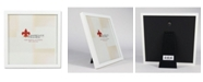 """Lawrence Frames 755888 White Wood Picture Frame - 8"""" x 8"""""""