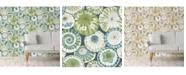 "Brewster Home Fashions Mikado Parasol Wallpaper - 396"" x 20.5"" x 0.025"""