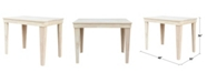 International Concepts Aspen Solid Wood Top Table - Counterheight Dining