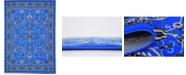 Bridgeport Home Arnav Arn1 Blue 7' x 10' Area Rug