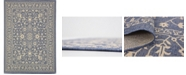 "Bridgeport Home Pashio Pas6 Navy Blue 8' x 11' 4"" Area Rug"