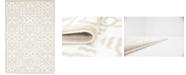 Bridgeport Home Marshall Mar5 Snow White 4' x 6' Area Rug