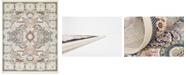 Bridgeport Home Zara Zar2 Ivory 8' x 10' Area Rug