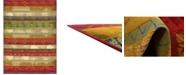 "Bridgeport Home Pashio Pas4 Multi 8' x 11' 4"" Area Rug"