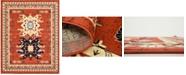 Bridgeport Home Charvi Chr1 Terracotta 8' x 10' Area Rug