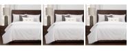 Revolution Plus Everlast White Stain Resistant 5 Piece Twin Luxury Duvet Set