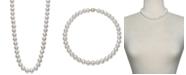 "Belle de Mer Cultured Freshwater Pearl Strand 18"" Necklace (10-1/2-11-1/2mm) in 14k Gold"