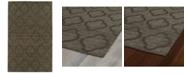 "Kaleen Imprints Modern IPM02-40 Chocolate 9'6"" x 13'6"" Area Rug"